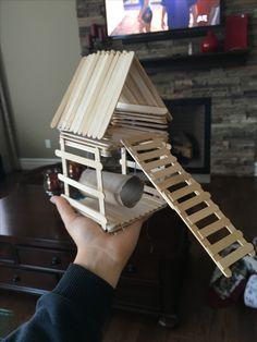 super easy diy hamster toy!                                                                                                                                                                                 More