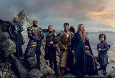 Game of Thrones Cast by Annie Leibovitz