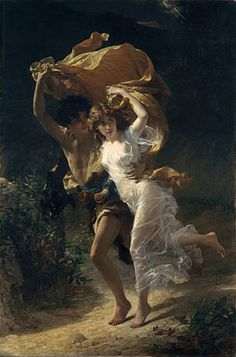 1880 Pierre Auguste Cot - The Storm. Professional Artist is the foremost business magazine for visual artists. Visit ProfessionalArtistMag.com.- www.professionalartistmag.com