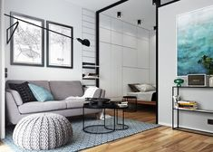 HOME DESIGNING: 5 Beautiful Studio Apartments http://www.davincilifestyle.com/home-designing-5-beautiful-studio-apartments/         Like Architecture & Interior Design? Follow Us…  Take a look through a gallery of 5 stylish contemporary studio apartments gathered together for your personal perusal. If you're looking for ideas or inspiration, these studios are an ideal place to start looking. Each has an abundance of motivation.  Expertly styled for differen