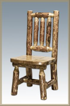Montana Woodworks MWGCKK Child's Chair Glacier Country