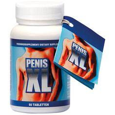 Cobeco Pharma Penis XL tabletten 60 tabletten - Penis XL bevat onder andere ginseng, muira puama, epimedium en zaagpalm.