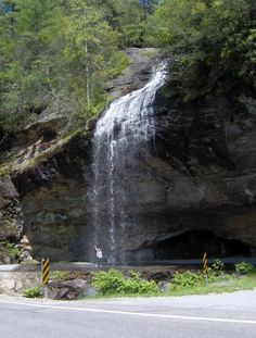 Take a day trip out to Bridal Veil and drive underneath a waterfall! chaletinn.com
