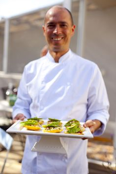 One of your hosts, Alberto Estua brings out the ceviche tostadas for everyone to enjoy. Come join our cooking experience! Casa Jacaranda Cooking class and Market Tour in Mexico City. Casa Jacaranda | Gallery