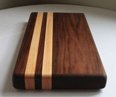 Walnut Cutting Board by OneTreeWoodworking on Etsy