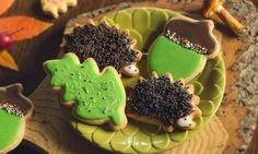 Leśna polana Gingerbread Cookies, Food, Gingerbread Cupcakes, Essen, Meals, Yemek, Eten