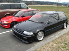 EF9 Civic - Retro Spirit - Old Car Style