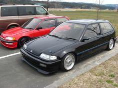 EF9 Civic - Retro Spirit - Old Car Style