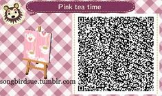 """songbirdsue: """"A requested pink version of the original tea time pattern. """""""