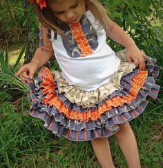 Stacy's Sassy Ruffle Skirt | Sewing Pattern | YouCanMakeThis.com
