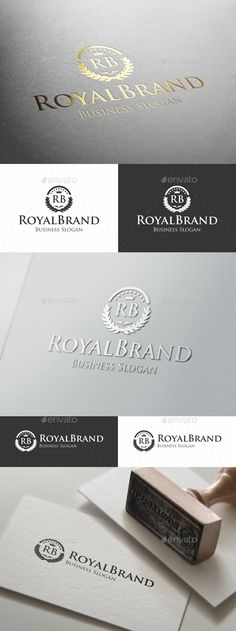 "Royal Brand Fashion Boutique Logo - Luxury Royal Boutique Elegant Logo – This Premium, Classy and Elegant Logo is ideal for Elite brands like Real Estate, Beauty Salon, Hotel and Resort, Law Firm, Business People Team Logo, Business Group, Consulting, Photographers, Casino, Restaurant, Spa, classy invitations, weddings, formal proposals, luxury industry like jewellery / jewelry, wine, fashion clothes, perfumes, any startups projects, ( you can change letters ""RB"" in any letters, as you like…"