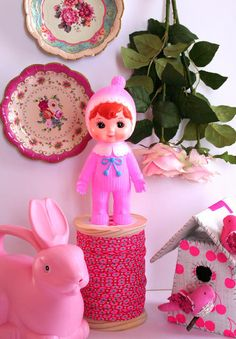 Pink woodland doll - cottoli shop