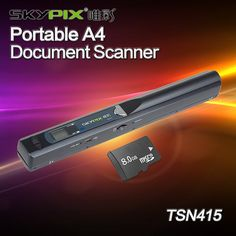 (49.05$)  Watch now - http://ai3sa.worlditems.win/all/product.php?id=32773282241 - 900x900 DPI HD Doc Scanner TSN415 Portable Handheld A4 Document Scanner OCR Image Scanner For Book Magazine W/8GB Memory Card