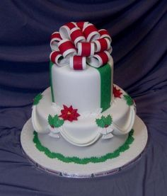 Christmas cake By sugarshack on CakeCentral.com