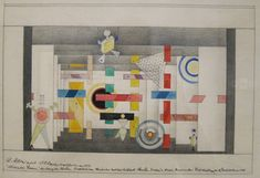 Andor Weininger 'Mechanical Stage Revue' 1926  http://www.deconcrete.org/2012/05/03/our-play-our-party-our-work/