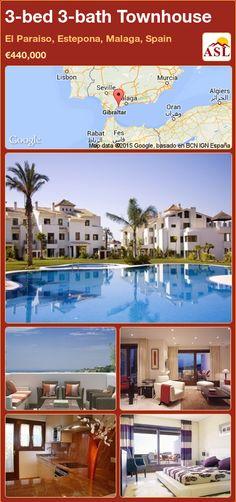 3-bed 3-bath Townhouse in El Paraiso, Estepona, Malaga, Spain ►€440,000 #PropertyForSaleInSpain