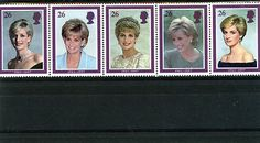 GREAT BRITAIN STAMP MINT NH ELIZABETH 11 DIANA ,PRINCESS OF WALES COMMEMORATION