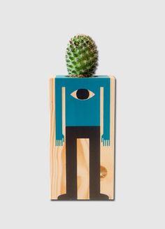 La Pequeña ciudad de P.: Los cactus ilustrados de Damián Quiroga