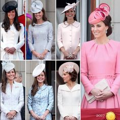 Duchess of Cambridge Catherine, Trooping The Colour Kate Middleton Hats, Kate Middleton Style, Royal Dresses, Modest Dresses, Duchess Kate, Duke And Duchess, Trooping The Colour, Prinz William, Hm The Queen