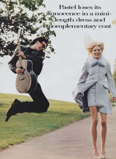 """Seasoned Simplicity""  by Arthur Elgort for US Vogue"