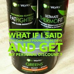 This is the triple threat ! This is our maximum weight loss program ! Who is ready to shed some pounds !!