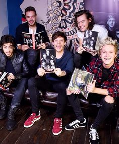 The boys at the signing