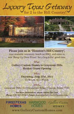 real estate e flyer for first texas homes texas homesproperty managementaragonmarketing ideasapartment ideasreal estatesapartments