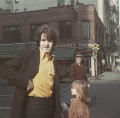 March 17, 1969      Paul McCartney with adopted daughter Heather in New York City on his and Linda's honeymoon, which started the day before.      Photographer: Linda McCartney