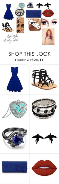 """""""Sunday date"""" by kawaii-much ❤ liked on Polyvore featuring Mystique, olgafacesrok, Lime Crime and Gaiam"""