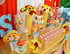 Glam Carnival! - Carnival/ First Birthday