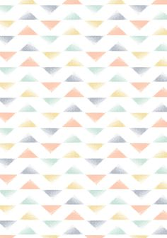 TRIANGLE pattern by Minakani for Sweetcase www.minakani.com #pattern #triangle #sweetcase