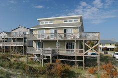 Sanddollar: 4 Bedroom, 2 1/2 Bath - Hot Tub  Pet Friendly - Oceanfront - Avon NC