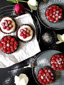 Rezept für  Himbeer Tartelettes mit Mascarponecreme / Tarte Himbeeren / Himbeeren Tartelettes