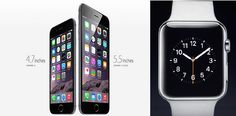 #Apple iPhone 6, iPhone 6 Plus and Apple Smart watch launched #iPhone6