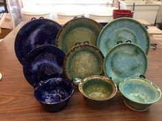 Beaumont Pottery from Phoenix, Maryland ~ dinnerware pottery made in Maryland.   Buy local, buy American Made!  Beaumont Pottery is located in Phoenix, MD