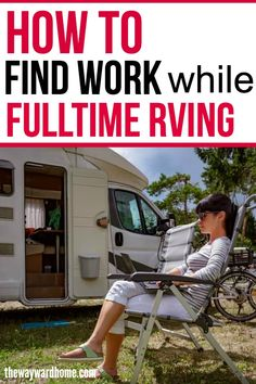 6 ways to find remote jobs and make money while fulltime RVing Looking for remote work ideas while living in your RV full time? Check out these 6 ways one RVer has found work while living a life of freedom on the road. Camper Life, Rv Campers, Rv Life, Happy Campers, Camper Van, Rv Camping Checklist, Rv Camping Tips, Camping Ideas, Camping List