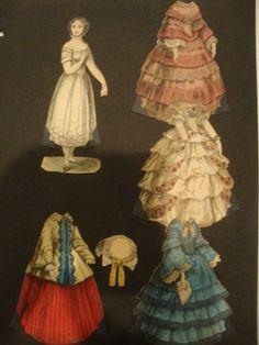 Five McLoughlin Paper Dolls : Lot 130