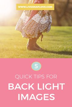 Photography Tips Lighting | Beginners | Back Light Photo | Tips for shooting a back lit image
