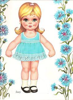 Darling Paper Dolls