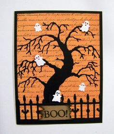 Ann Greenspan's Crafts: Memory Box Halloween cards
