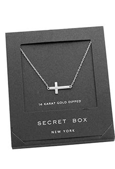 Easter gifts rosemarie collections religious inspirational rosemarie collections womens 14k white gold dipped cross pendant necklace negle Gallery