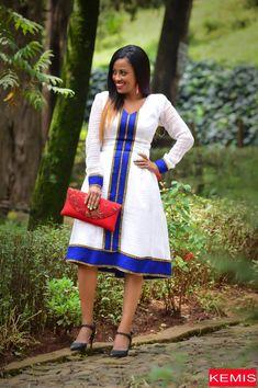 Items similar to Ethiopian dress Habesha dress Ethiopian clothing Ethiopian traditional dress Ethiopian modern dress Kemisd on Etsy Ethiopian Traditional Dress, African Traditional Wedding Dress, Traditional Dresses, African Print Dresses, African Dress, African Outfits, Chitenge Dresses, Ethiopian Dress, Chiffon Dress Long