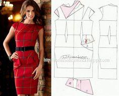 Vestido #molde #vestido