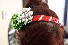 DIY {holiday headband}