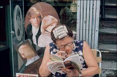 Reading a magazine Helen Levitt