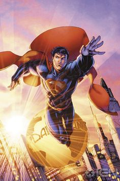 DC Comics Celebrates 75 Years of the Man of Steel with Superman Unchained Variant Covers - IGN Superman Man Of Steel, Superman Wonder Woman, Jim Lee, Dc Comics Art, Marvel Comics, Comic Books Art, Comic Art, Book Art, Superman Characters