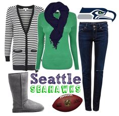 Fashion Forward Fridays: What to wear for Seattle Seahawks Superbowl party!