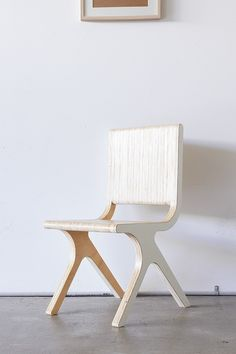Chairs designed and built by Elo Silo.