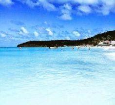 Dickenson Bay is the longest white sand beach in Antigua