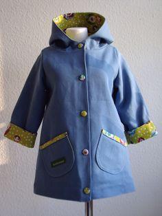 sweet children coat for summermonths...